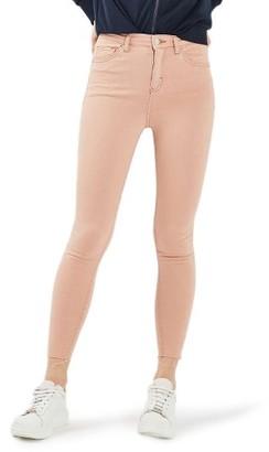 Women's Topshop Jamie Raw Hem Skinny Jeans $70 thestylecure.com