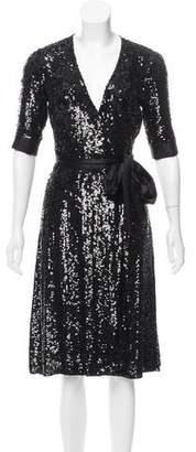Diane von Furstenberg Veruca Sequined Dress