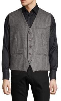 Brunello Cucinelli Pinstripe Wool Vest
