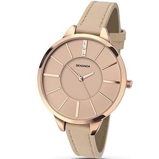 Sekonda Women's Analogue Quartz Watch with PU Strap 2316.27