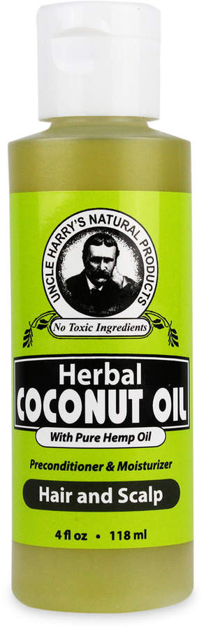 Smallflower Uncle Harry's Natural Products Herbal Coconut Oil for Hair