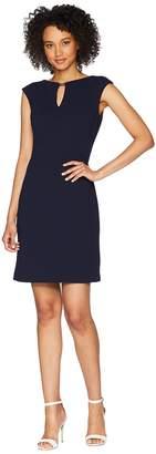 Lauren Ralph Lauren Nadine Cap Sleeve Day Dress Women's Dress