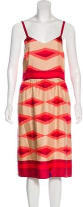 Marc by Marc Jacobs Printed Midi Dress