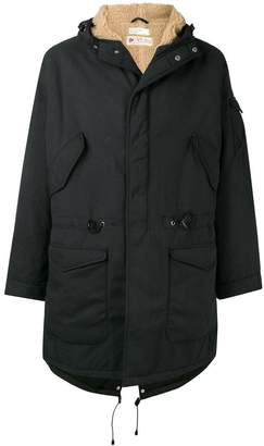 Universal Works British military lined parka