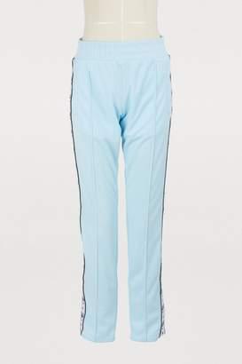Chiara Ferragni Logo cotton jogging pants