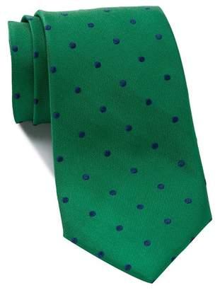 Nordstrom Silk Poset Dot XL Tie