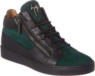 Giuseppe Zanotti Dilan Leather & Suede Sneaker