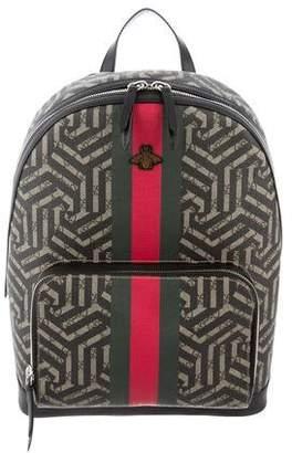Gucci 2018 GG Caleido Web Backpack