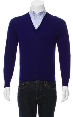 Alexander McQueen Long Sleeve Polo