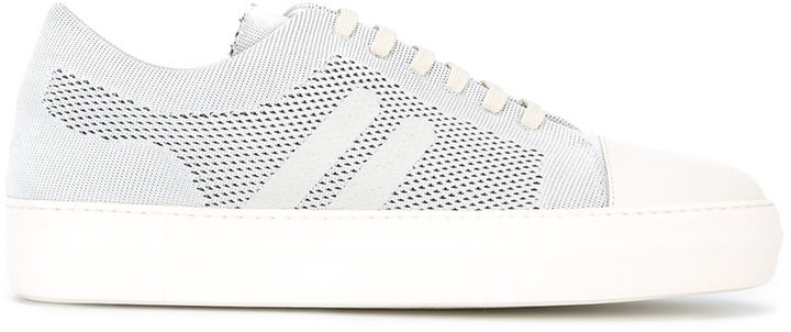 Neil Barrett perforated sneakers
