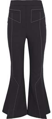 Ellery Align Crepe Kick-Flare Pants