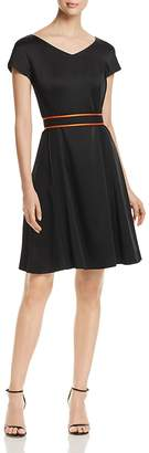 BOSS Dartonika Fit-and-Flare Dress