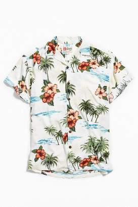 Urban Outfitters Vintage Vintage Light Ground Hawaiian Shirt