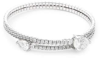 Saks Fifth Avenue Silver Bangle Bracelet