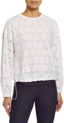 Kate Spade textured lace pullover
