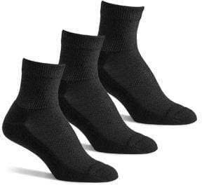 Berkshire Women's Pack of 3 Diabetic Quarter Socks