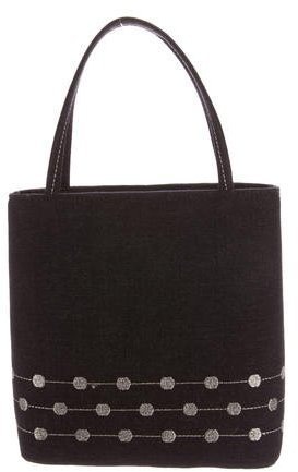 Kate SpadeKate Spade New York Embroidered Woven Handle Bag