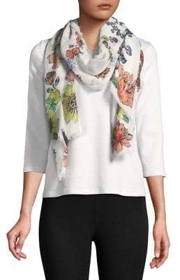 Collection 18 Floral-Print Scarf