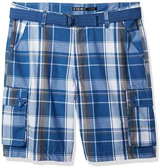 Ecko Unlimited Men's Salem Plaid Cargo Short