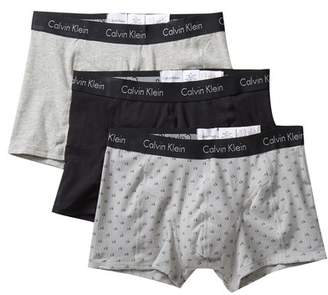 Calvin Klein Elements Comfort Fit Trunks - Pack of 3