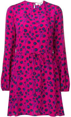 Diane von Furstenberg dragon berry print dress