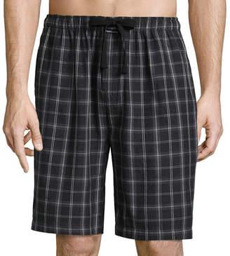 Van Heusen Men's Flannel Pajama Shorts-Big