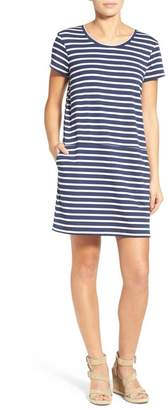 Caslon Knit Shift Dress (Regular & Petite)