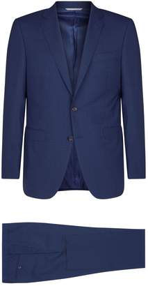 Canali Check Wool Two-Piece Suit