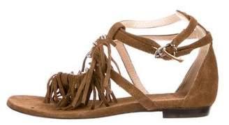 Barbara Bui Fridge Suede Sandals