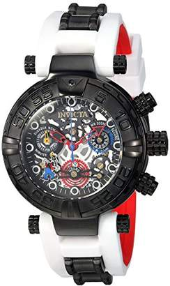 Invicta Women's 'Disney Limited Edition' Quartz Stainless Steel and Silicone Casual Watch