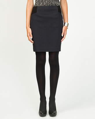 Le Château Check Straight Skirt