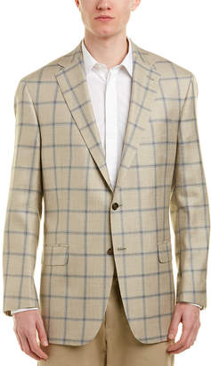 Hart Schaffner Marx Chicago Classic Fit Wool, Silk, & Linen-Blend Sport Coat