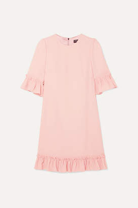 Dolce & Gabbana Ruffled Cady Mini Dress - Pink