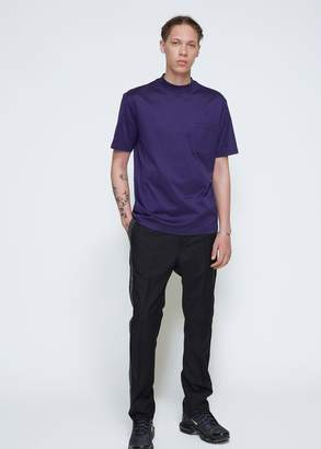 Lanvin Mercerised Jersey High Collar Tee