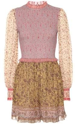 508ae08787 Zimmermann Juniper cotton and silk playsuit