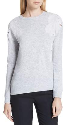 Ted Baker Yizelda Lace Shoulder Sweater