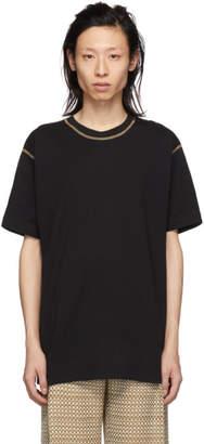Cmmn Swdn Black Ridley Contrast T-Shirt