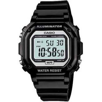 Casio Unisex Digital Watch, Black Resin Strap
