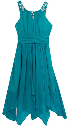 Rare Editions Fit & Flare Dress - Big Kid Girls $65 thestylecure.com