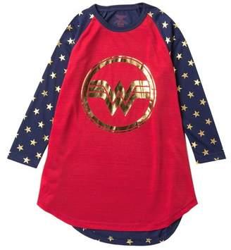 Intimo Wonder Woman Raglan Nightgown (Little Girls & Big Girls)