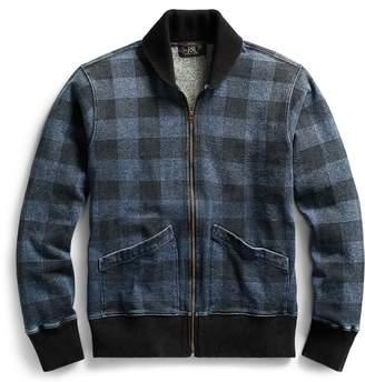 Ralph Lauren Indigo Plaid Fleece Jacket