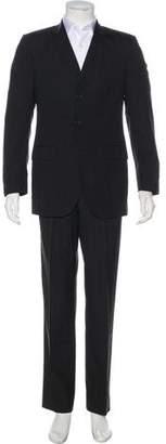Dolce & Gabbana Striped Virgin Wool Suit