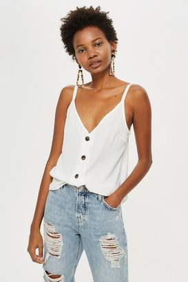 Topshop Button Front Cami