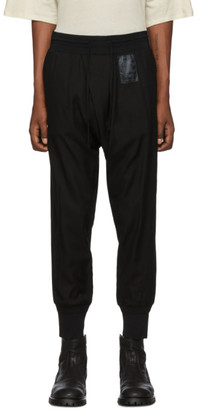 Julius Black Tucked Trousers