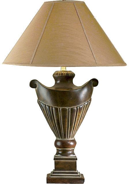 Elena Gold Lamp
