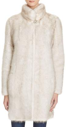 Maximilian Furs Knit Mink Fur Coat - 100% Exclusive