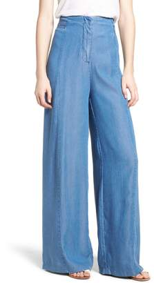 Bishop + Young O-Ring Wide Leg Denim Pants