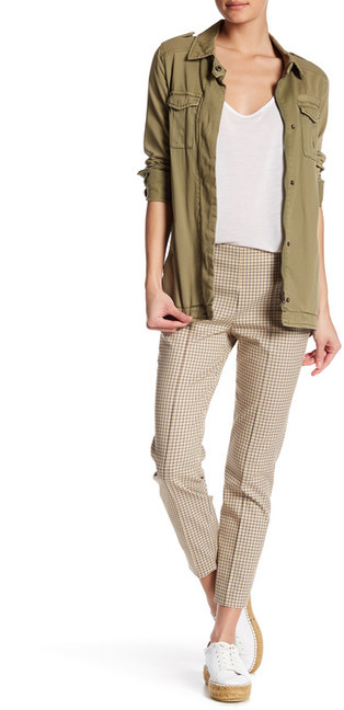TheoryTheory Alettah Ainsley Check Pant