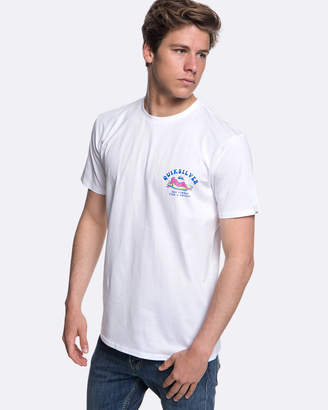 Quiksilver Mens Fish And Chicks T Shirt