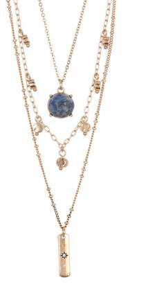 Melrose and Market 3 Layer Stone Stick Necklace